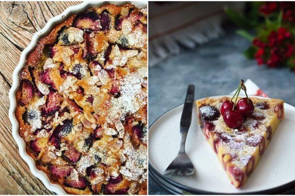 Francuski clafoutis u čoko verziji – slatki desert za snježnu večer