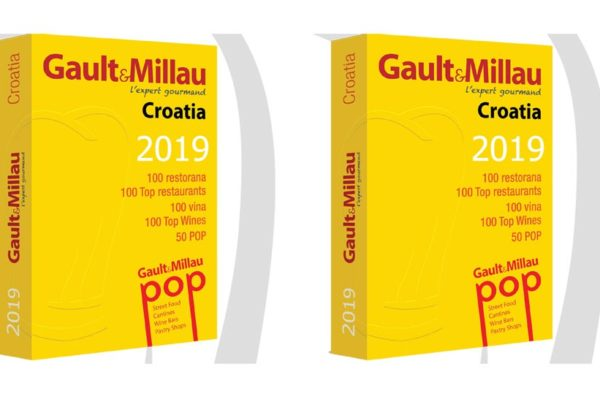 U ožujku 2019. izlazi Gault&Millau Croatia 2019