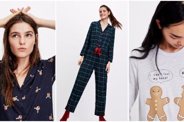 Božićne pidžame za blagdane kod kuće