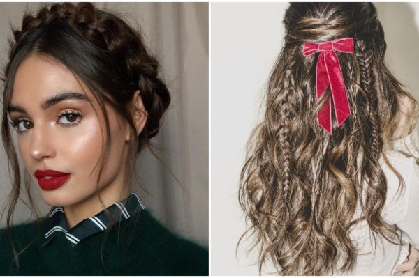 5 šarmantnih frizura s pletenicama za blagdansku sezonu