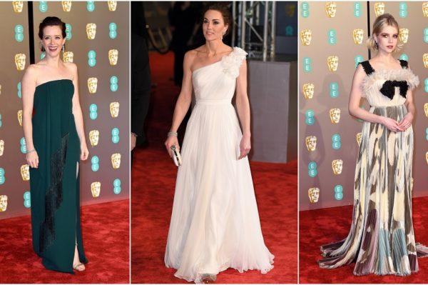 Glamurozne kombinacije s crvenog tepiha BAFTA i Grammy nagrada