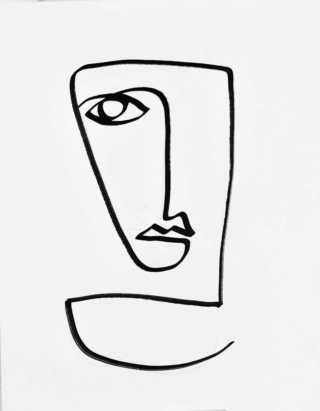 Hrvatski umjetnik Nenad Dević stvara divne line art crteže