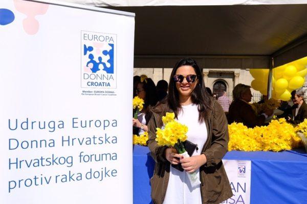 Udruga Europa Donna Hrvatska ovog vikenda je obilježila 23. Dan narcisa