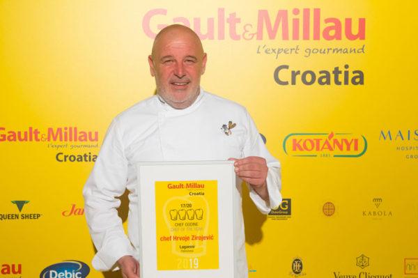 Na gala večeri dodijeljeni kulinarski Oscari i predstavljen vodič Gault&Millau Croatia 2019.