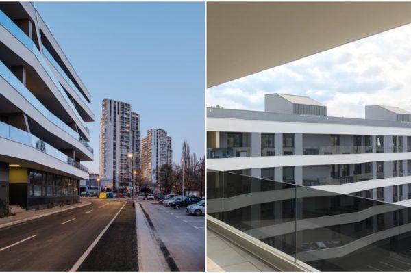 Arhitektonsko osvježenje uz savski nasip ima savršene stanove