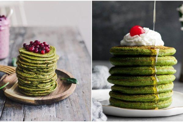 Zelene palačinke u dva recepta su idealan, lagani doručak