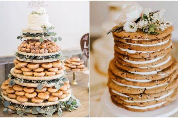 Tražite malo drugačiju svadbenu tortu? Donosimo ideje za svadbene torte koje to nisu