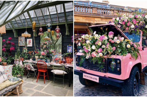 London u cvijeću: Instagram galerija cvjetnih instalacija poziva u britansku prijestolnicu