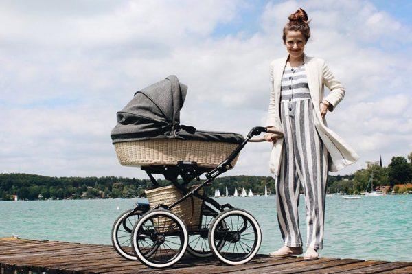 Baby kolica u retro stilu
