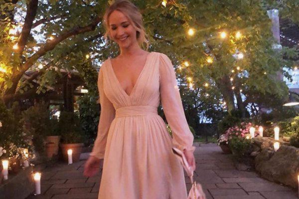 Jennifer Lawrence zablistala na proslavi svojih zaruka