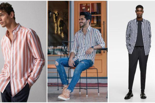 Journal Man: Prugice su omiljeni uzorak i na muškim košuljama