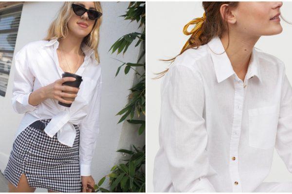 Klasična bijela košulja u 20 modela koje ćemo nositi u gradu i na plaži