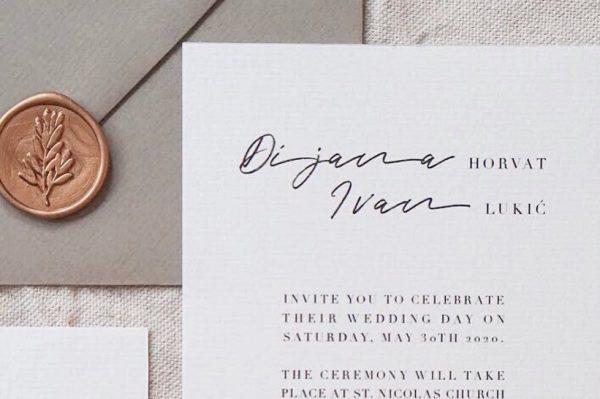 Ovo su najljepše pozivnice za vjenčanje koje smo vidjeli u posljednje vrijeme