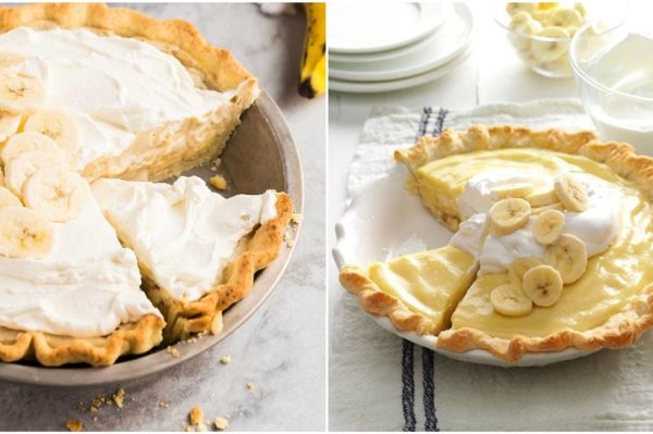 Savršen ljetni desert: hladni tart s bananama