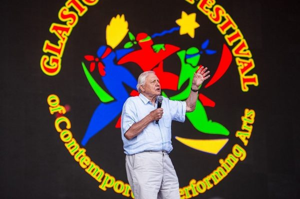Sir David Attenborough iznenadio je sve na Glastonbury Festivalu