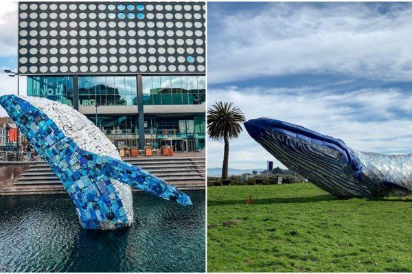 Zanimljive instalacije u svjetskim metropolama kao apel za spašavanje kitova