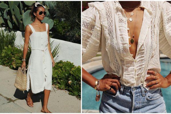 Bijela boja i ležerni modni klasici kao savršena outfit inspiracija za tjedan ispred nas