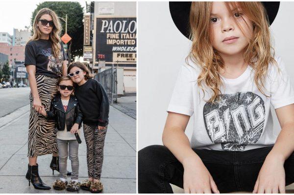 Anine Bing, modna dizajnerica, influencerica i mama, dizajnira najcool stvari za klince