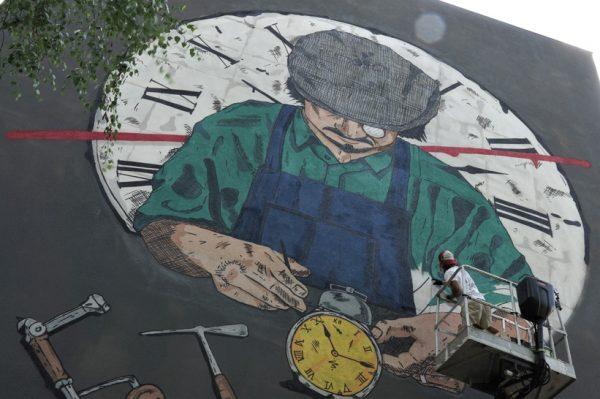 Jeste li već primijetili novi mural u Savskoj?