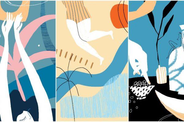 Divne ljetne ilustracije Hane Tintor