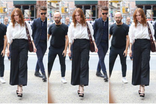 Street style inspiracija: Julianne Moore u kombinaciji koju ćemo nositi cijelu jesen