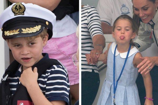 George i Charlotte: preslatki brat i sestra na regati nasmijali sve prisutne