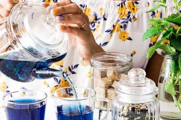 Plavi čaj: trend koji je osvojio društvene mreže