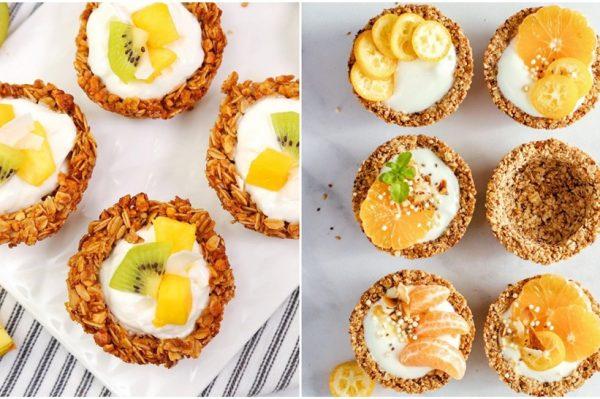 Granola cups su trenutno najpopularniji način kako za doručak jesti žitarice