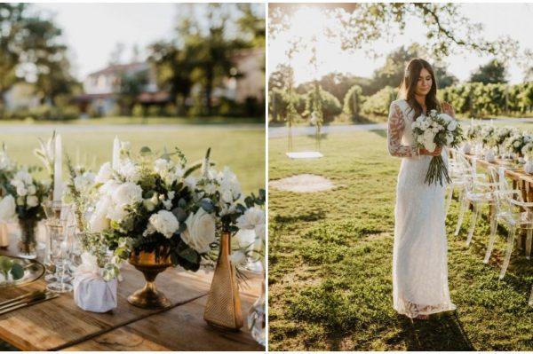 Kako je izgledalo jedno čarobno vjenčanje u istarskom Meneghettiju?