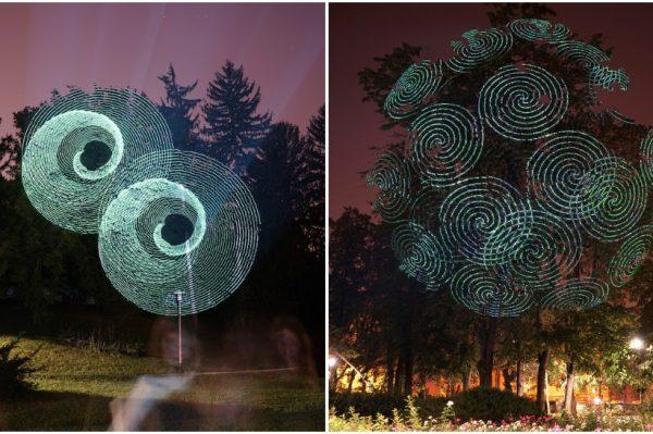 S Javierom Riera, umjetnikom koji je kreirao čarobne svjetlosne instalacije za OKOLO