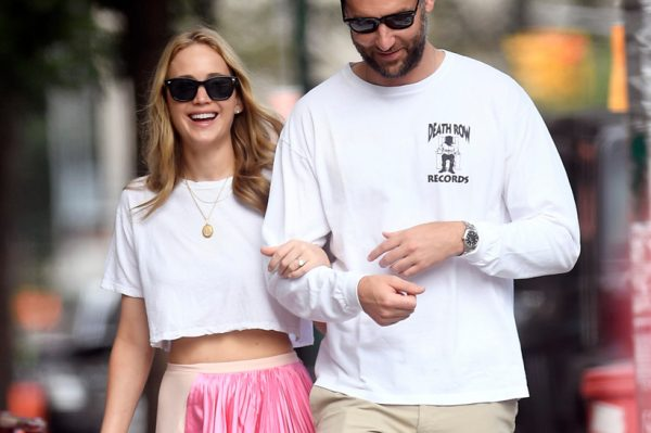 Jennifer Lawrence i Cooke Maroney su jako stylish par