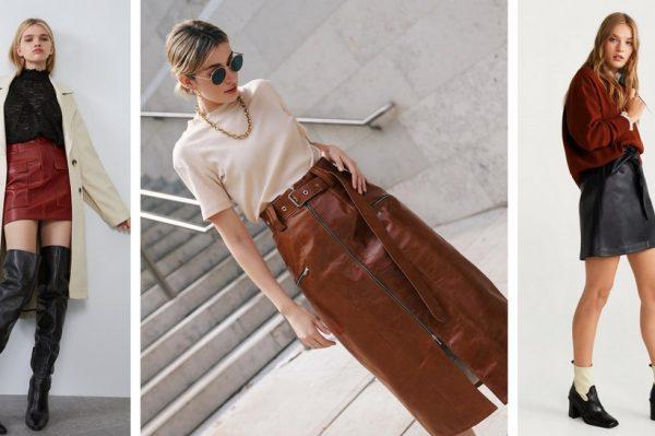 20 kožnih suknji s high street potpisom za efektne jesenske kombinacije