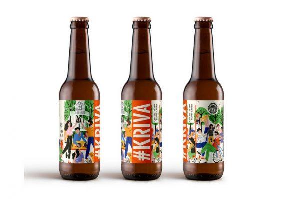 Jeste li već vidjeli cool etiketu za hrvatsko pivo koju potpisuje naša ilustratorica?