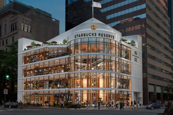 Otvara se najveći Starbucks na čak četiri kata