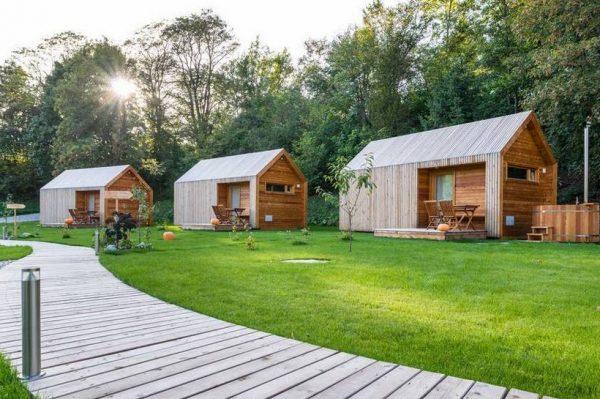 Pronašli smo još jedan atraktivan kamp za luksuzno kampiranje u Sloveniji
