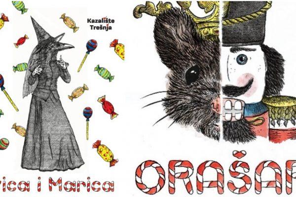 Prekrasni plakati dječjih predstava s potpisom hrvatske umjetnice OKO