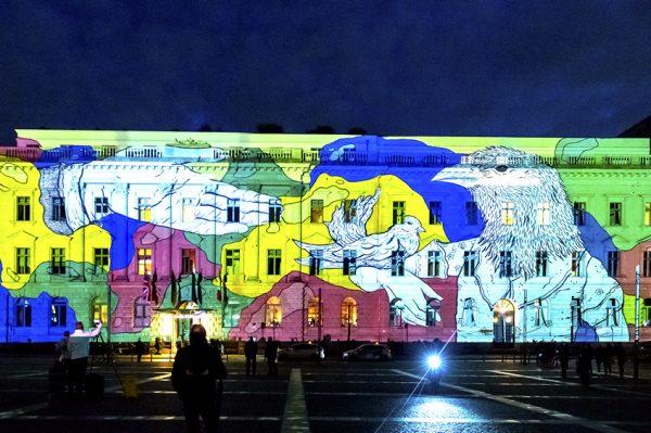 Genijalan rad hrvatske umjetnice OKO povodom 30 godina pada Berlinskog zida