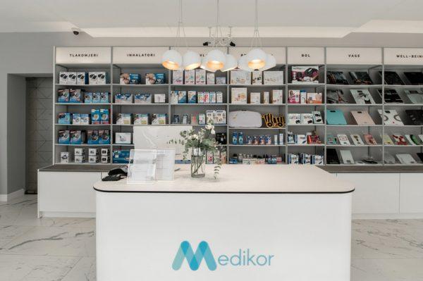 Novouređena Medikor prodavaonica odiše toplinom, elegancijom i prozrašnošću