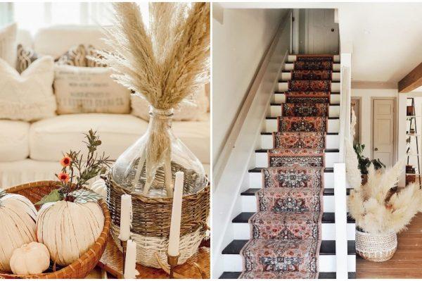 Pampas trava je efektna dekoracija koja se savršeno uklapa u svaki interijer