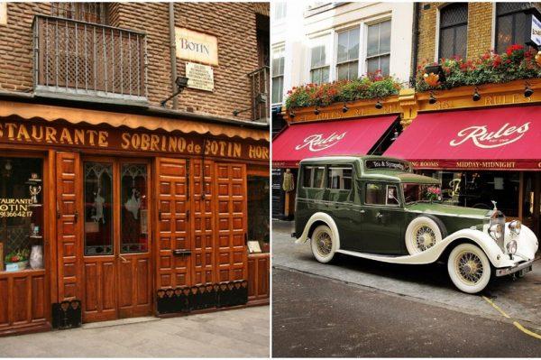 Znate li koji su najstariji restorani na svijetu i zašto ih foodieji i dalje vole?