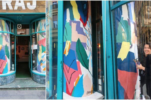 Burgeraj ima novi izlog koji potpisuje umjetnica Jelena Bando