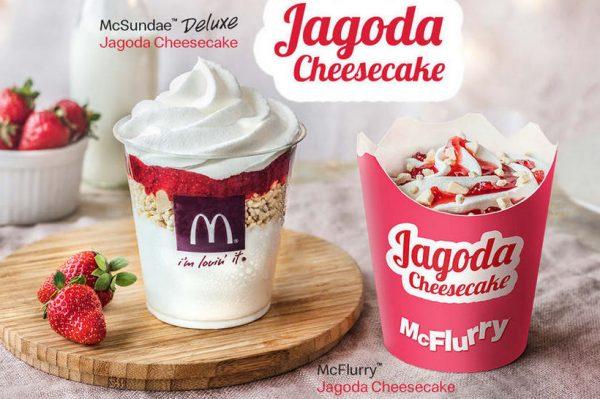 McDonald's ima nove deserte od jagode i cheesecakea