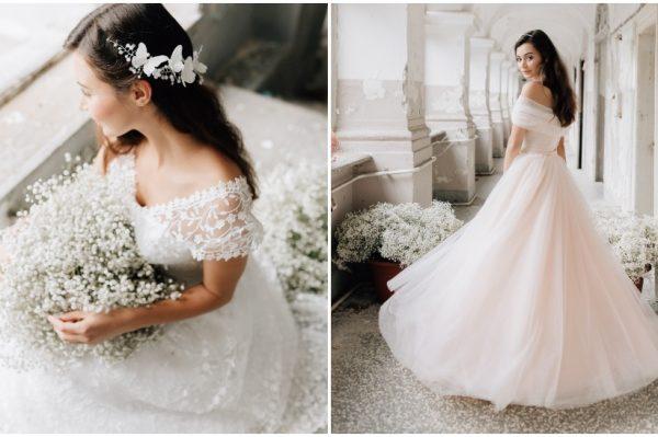 Čipka, til i svila u novoj, romantičnoj kolekciji vjenčanica s potpisom Sandre Haddad