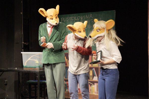 """Vodimo vas na dječju predstavu """"Geronimo Stilton: Pustolovina u mišjoj školi"""""""