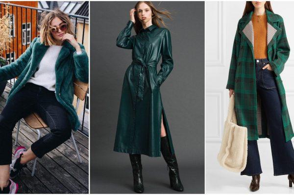 Smaragdna boja savršena je za zimsku garderobu – donosimo najbolje modele