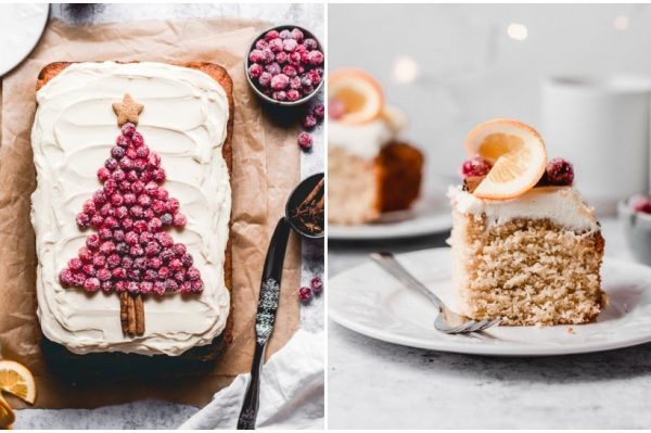 Ana's Baking Chronicles: Kolač s narančom i kremom od bijele čokolade