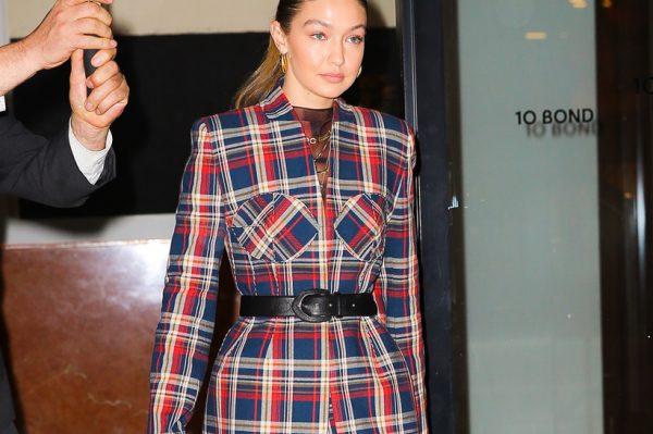 Street style inspiracija: Gigi Hadid u savršenom outfitu za svaku božićnu priliku