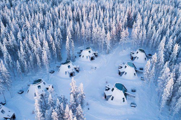 Stakleni iglui u Selu Djeda Božićnjaka još su jedan razlog zašto ove zime želimo u Finsku