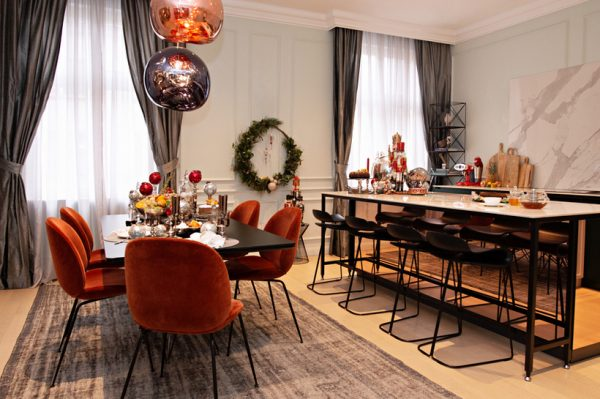 Nekoliko sjajnih ideja za stiliziranje doma ovog Božića