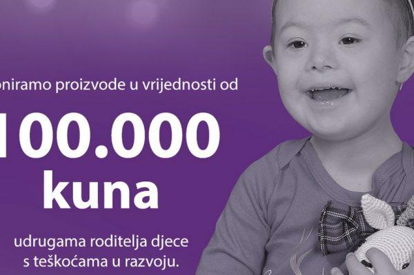 Violeta donira 100.000 kn Udrugama roditelja djece s teškoćama u razvoju